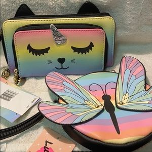 NWT Betsey Johnson wallet & coin purse